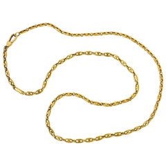"Van Cleef & Arpels ""Gucci Style"" Link Chain"