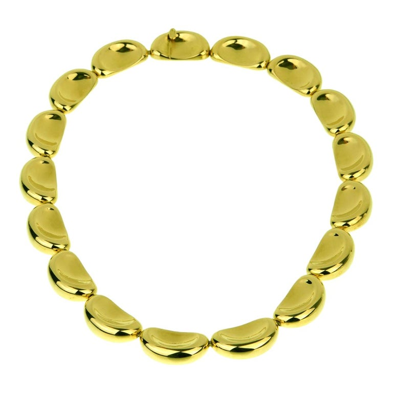 Van Cleef & Arpels Important Yellow Gold Necklace For Sale