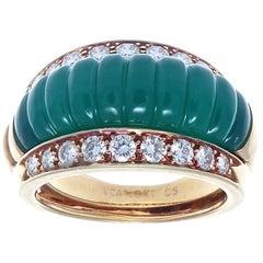 Van Cleef & Arpels Interchangeable Gemstone Diamond Gold Ring