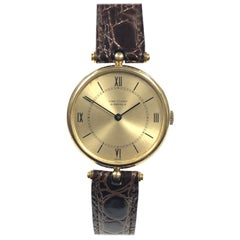 Van Cleef & Arpels La Collection Yellow Gold Mechanical Wristwatch
