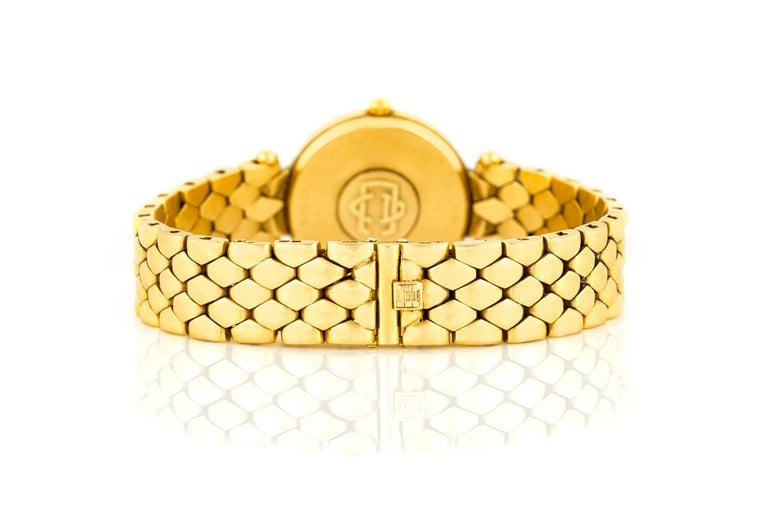 Women's Van Cleef & Arpels Ladies Gold Watch For Sale