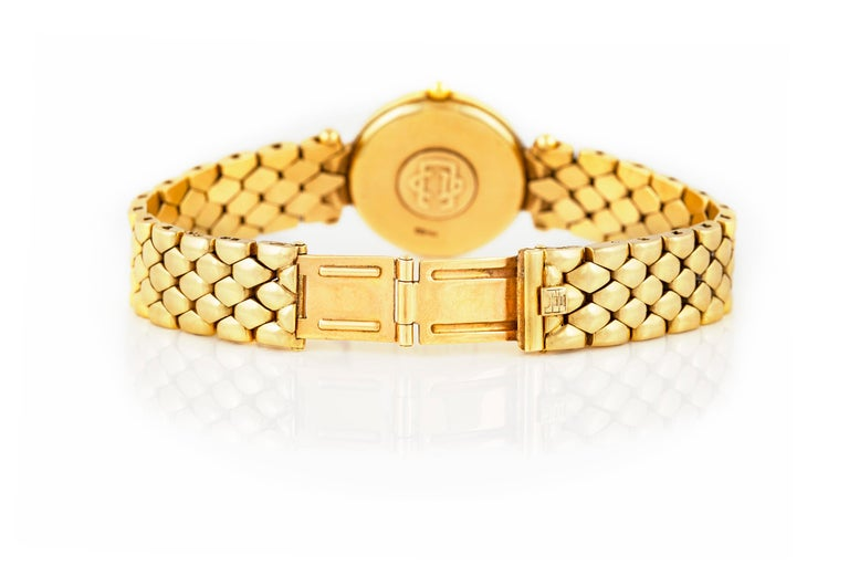 Van Cleef & Arpels Ladies Gold Watch For Sale 1