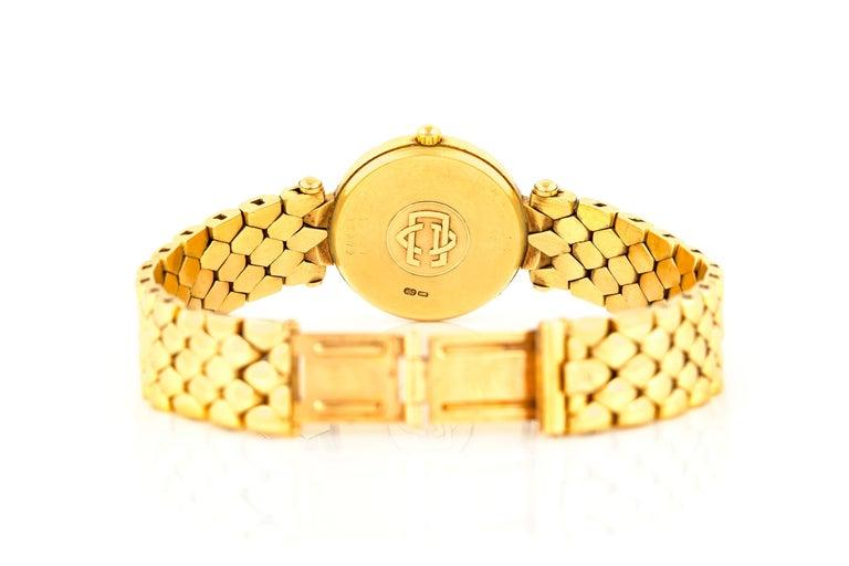 Van Cleef & Arpels Ladies Gold Watch For Sale 2