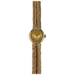 Van Cleef & Arpels Ladies Yellow Gold Vintage Manual Wind Wristwatch