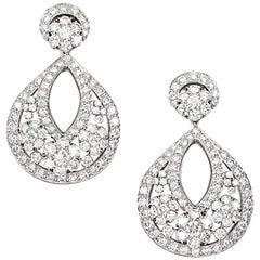"""Van Cleef & Arpels Large """"Snowflake"""" Earrings"""
