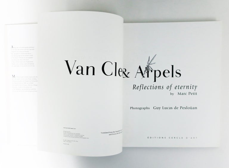 Italian Van Cleef & Arpels Jewelry Library or Coffee Table Book For Sale