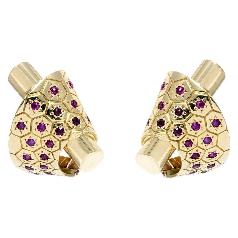 Van Cleef & Arpels Ludo Earrings For Sale