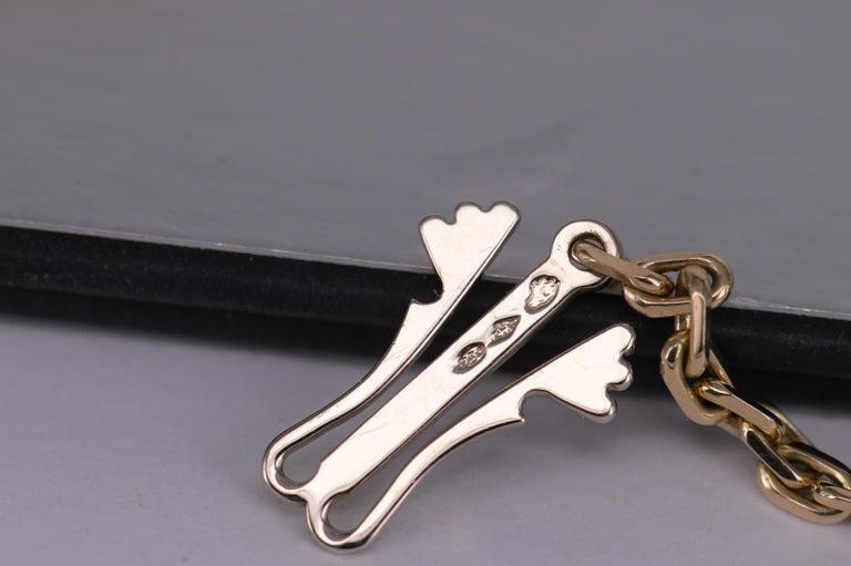 Van Cleef & Arpels Magic Alhambra 16 Motif Yellow Gold Long Necklace 4
