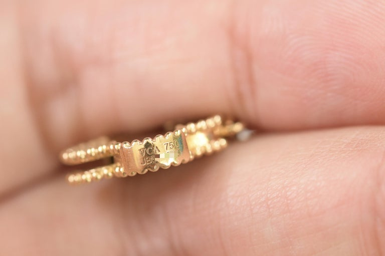 Van Cleef & Arpels Magic Alhambra 16 Motifs Long Necklace For Sale 2
