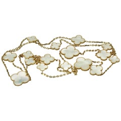 "Van Cleef & Arpels ""Magic"" Alhambra Mother of Pearl"