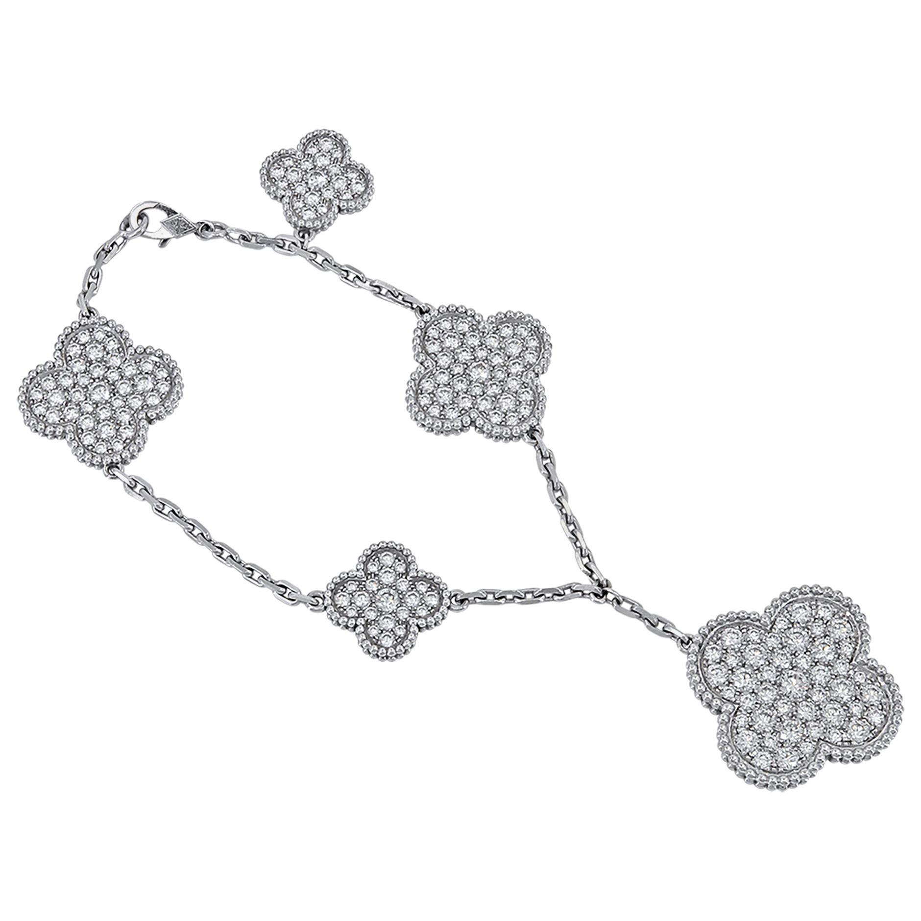 Van Cleef & Arpels Magic Alhambra Bracelet 5 Motifs