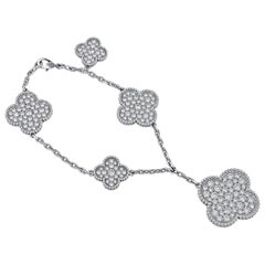 Van Cleef & Arpels Magic Alhambra Bracelet 5 Motifs