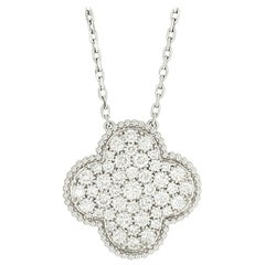 Van Cleef & Arpels Magic Alhambra Diamond Pendant