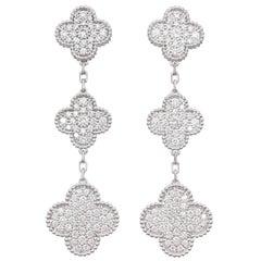 """Van Cleef & Arpels """"Magic Alhambra"""" Earrings"""
