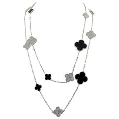 Van Cleef & Arpels Magic Alhambra Fifth Avenue Necklace