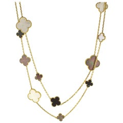 Van Cleef & Arpels Magic Alhambra Long Necklace, 16 Motifs