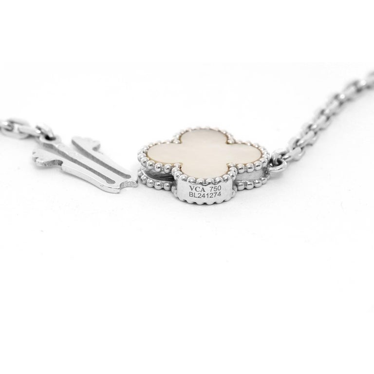 Van Cleef & Arpels Magic Alhambra Long Necklace For Sale 2