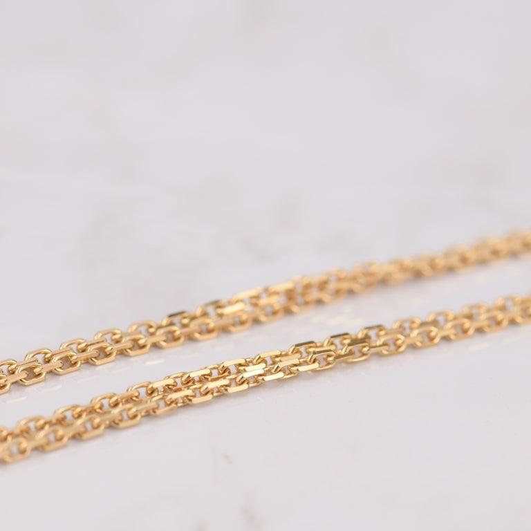 Van Cleef & Arpels Magic Alhambra Malachite Yellow Gold Pendant Long Necklace For Sale 4