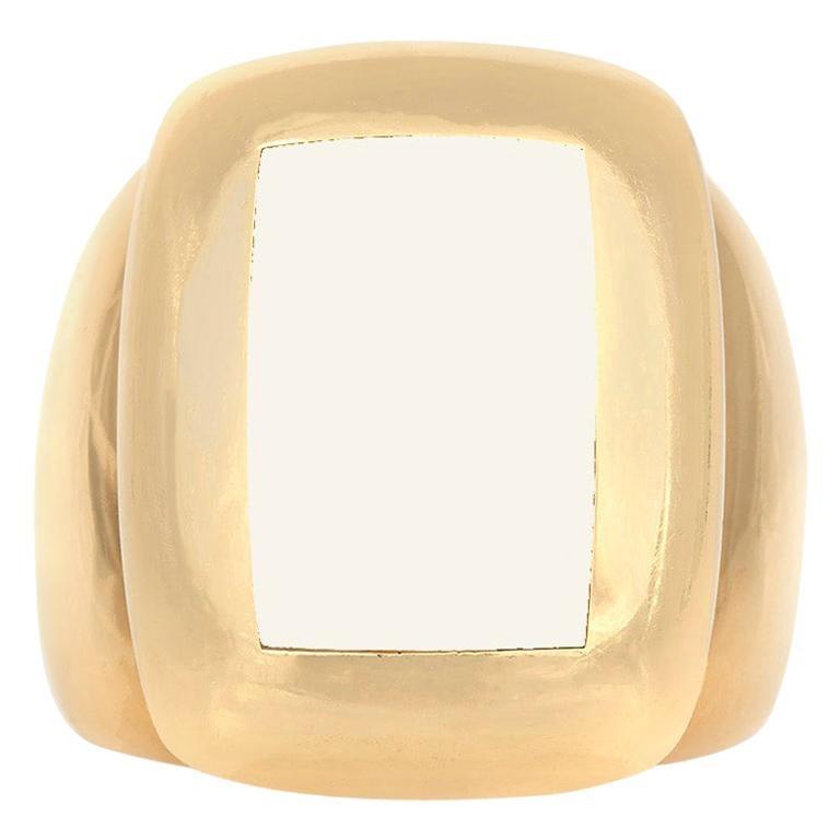 Van Cleef & Arpels Mother of Pearl Ring
