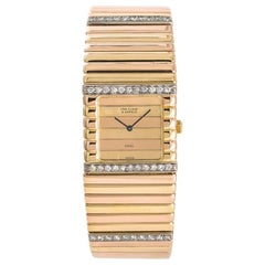 Van Cleef & Arpels No-Model No-Ref#, Gold Dial, Certified
