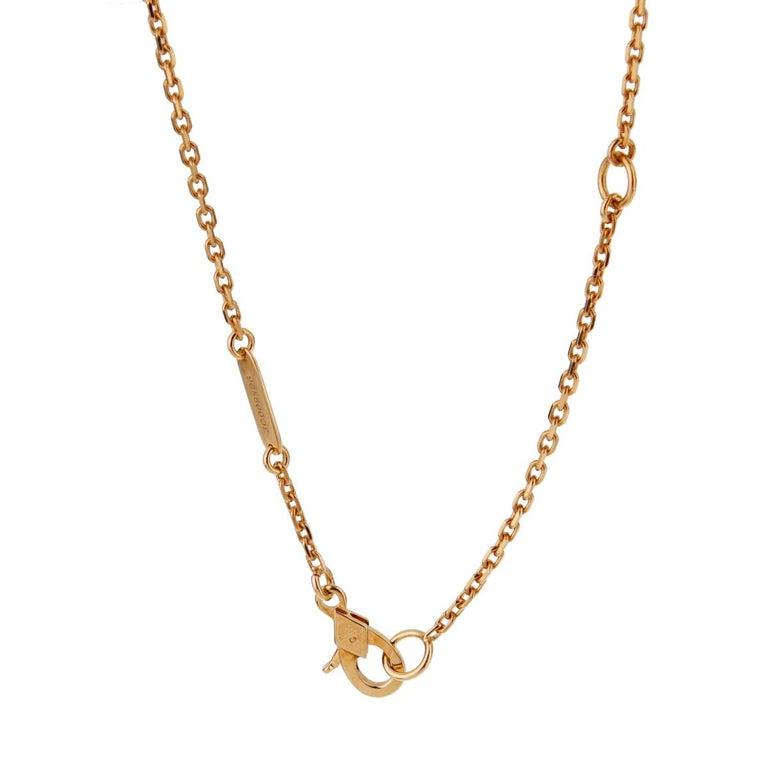Women's Van Cleef & Arpels Oiseaux De Paradis Sapphire Diamond Pendant Necklace For Sale