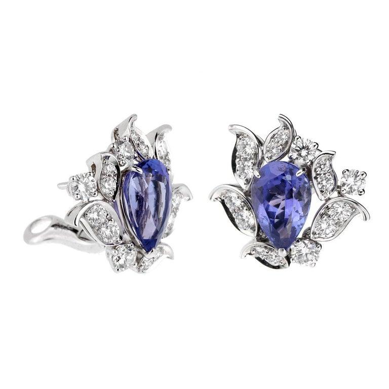 Van Cleef & Arpels One of a Kind Les Jardins Diamond Suite For Sale 8
