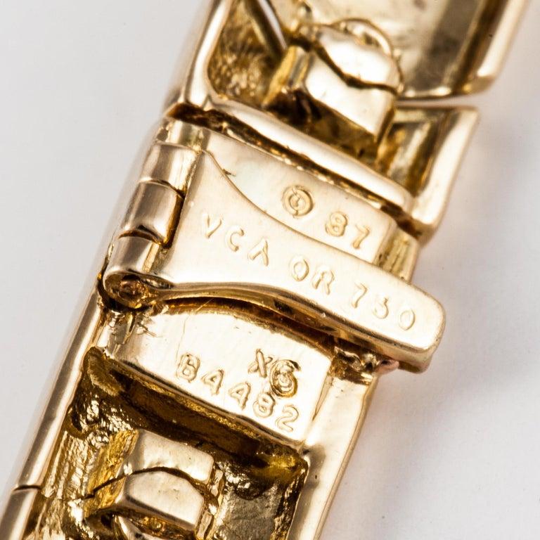Van Cleef & Arpels Onyx Diamond Necklace For Sale 1