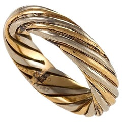 Van Cleef & Arpels Paris Twisted Gold Ring or Band