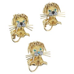 Gold Brooches