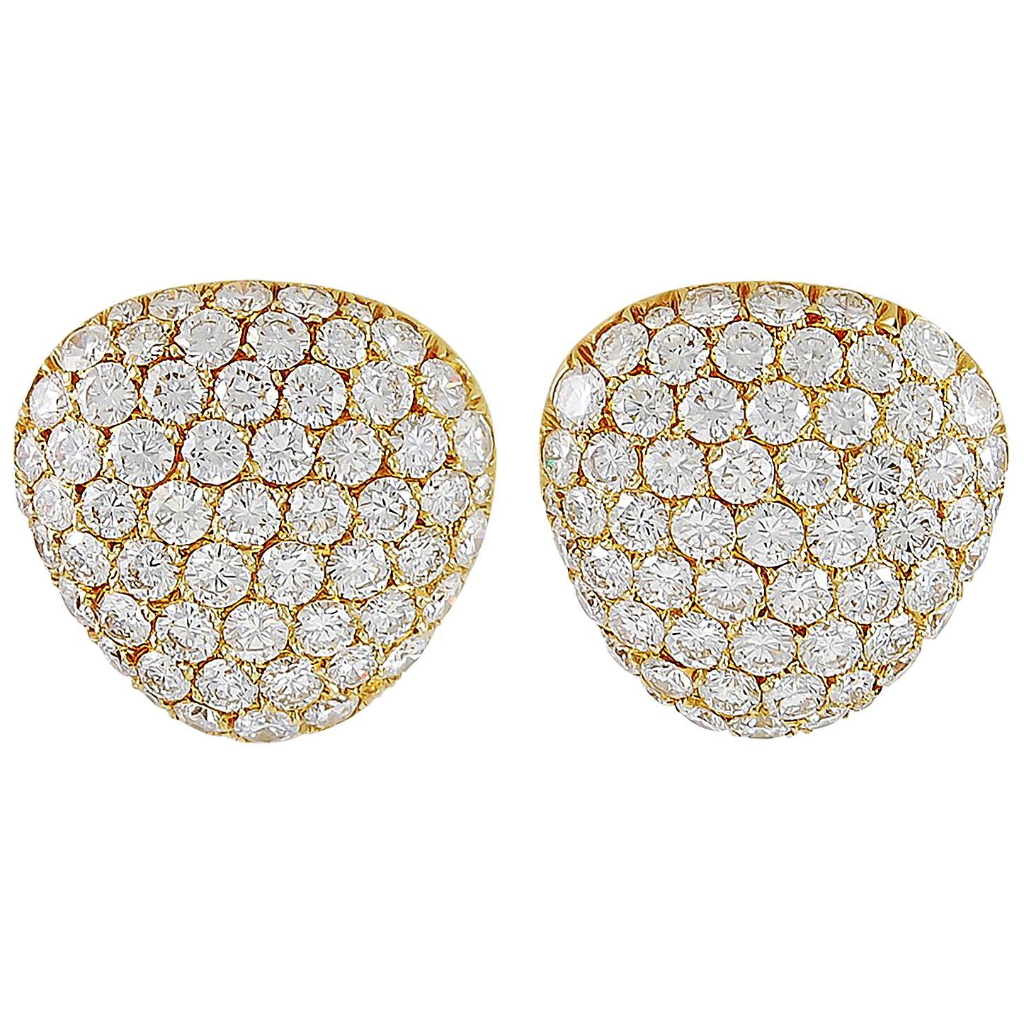 Van Cleef & Arpels Pavé Diamonds Earrings