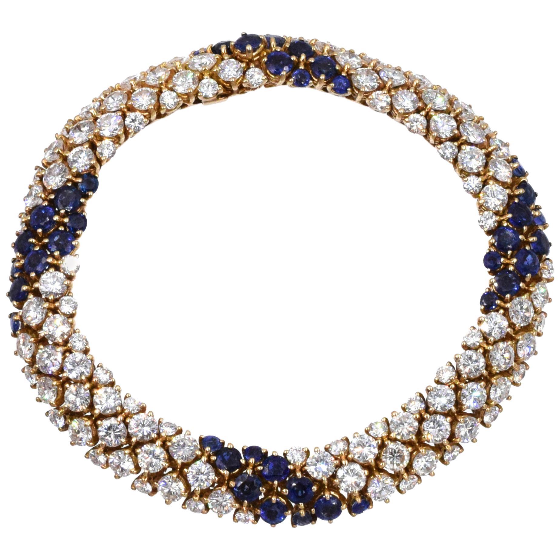 Van Cleef & Arpels 'Pelouse' Bracelet French