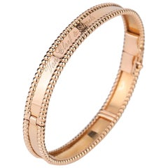 Van Cleef & Arpels Perlée Bangle Bracelet Medium Size