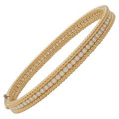 Van Cleef & Arpels 'Perlée' Diamonds Bracelet, Medium Model