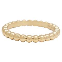 Van Cleef & Arpels Perlée Pearls of Gold Ring, Small Model