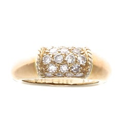 Van Cleef & Arpels Philippine Diamond Gold Ring