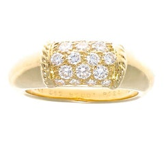 Van Cleef & Arpels Philippine Diamond Gold Ring
