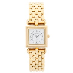 Van Cleef & Arpels Quartz Yellow Gold Watch Ref. 122664