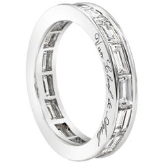 Van Cleef & Arpels Romance Baguette Diamond Eternity Wedding Band