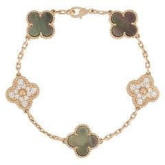 Van Cleef & Arpels Rose Gold Vintage Alhambra Bracelet VCARP2R100