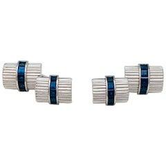 Van Cleef & Arpels Sapphires Cufflinks