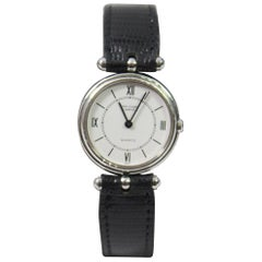 Van Cleef & Arpels Stainless Steel Vintage Ladies Watch