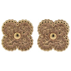 Van Cleef & Arpels Sweet Alhambra Gold Earrings