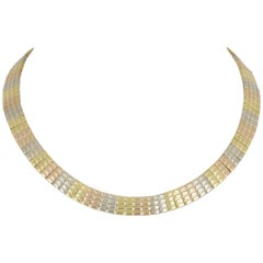 Van Cleef & Arpels Tri-Colour Gold Necklace