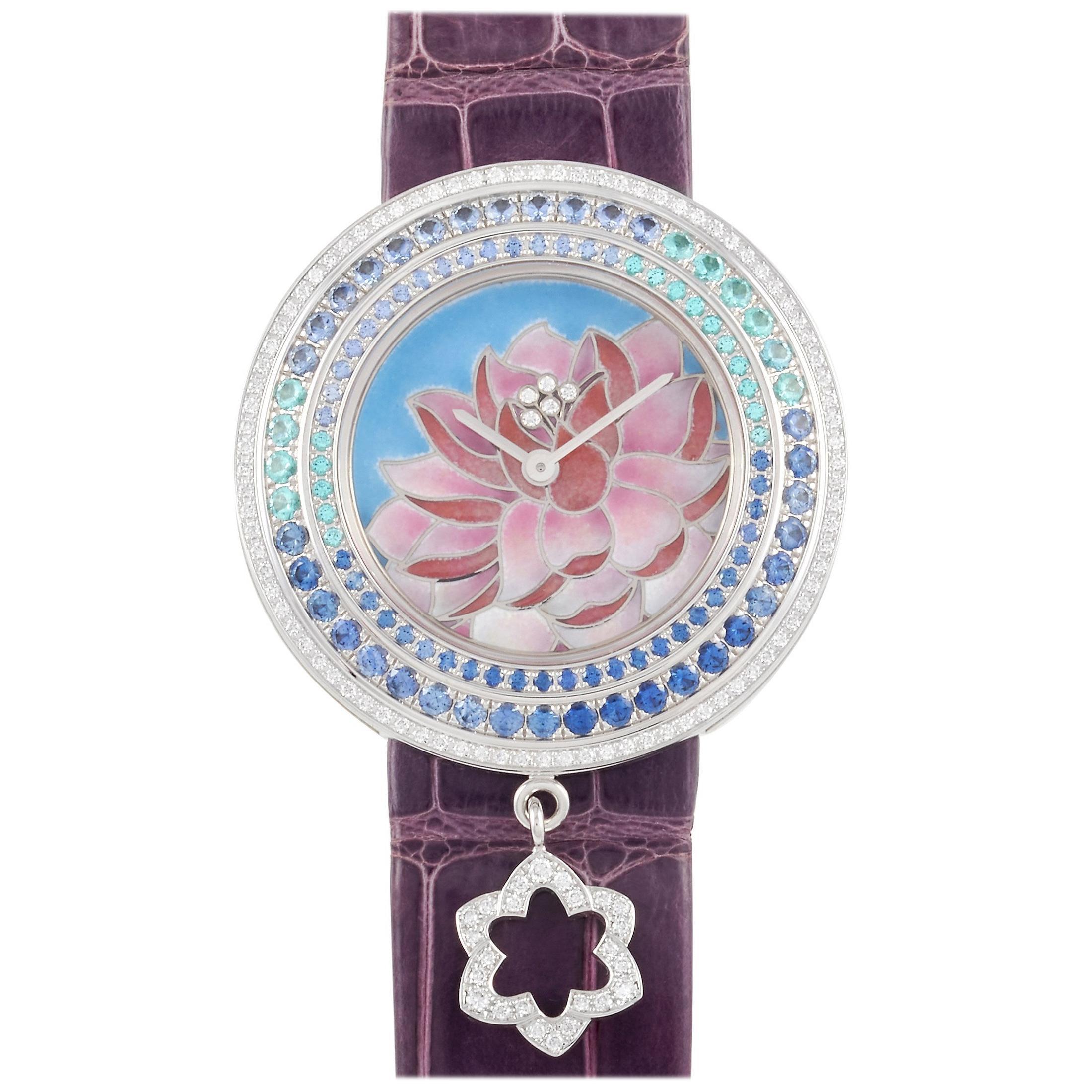Van Cleef & Arpels Van Cleef Arpels Charms Extraordinaires Lotus Ladies' Watch