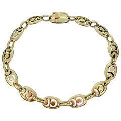 Van Cleef & Arpels VCA Chain Links Yellow Gold Bracelet