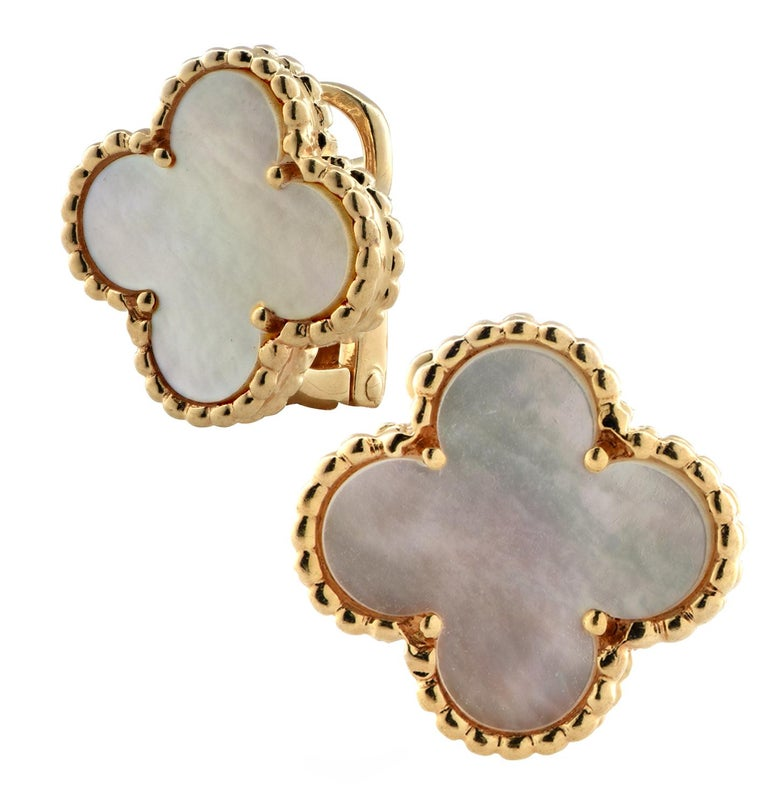 Women's Van Cleef & Arpels Vintage Alhambra Earrings