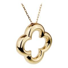 Van Cleef & Arpels Vintage Alhambra Gold Necklace