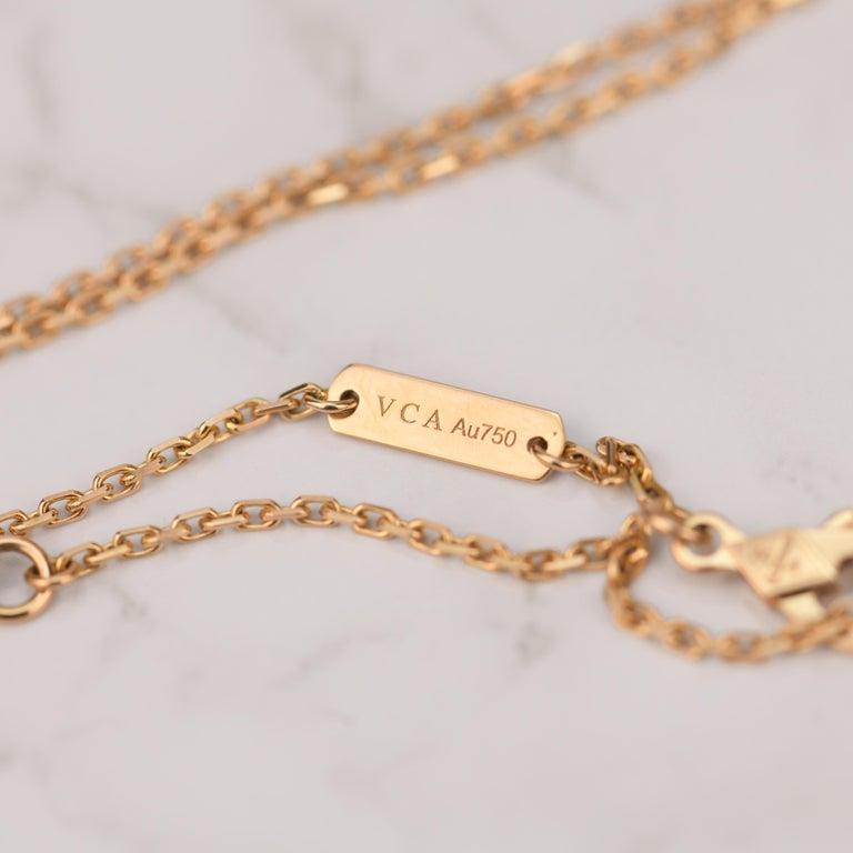 Van Cleef & Arpels Vintage Alhambra Limited Edition Bullseye Pendant Necklace For Sale 3