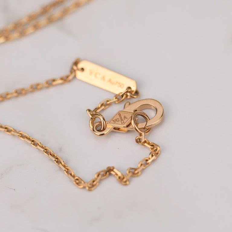 Van Cleef & Arpels Vintage Alhambra Limited Edition Bullseye Pendant Necklace For Sale 4