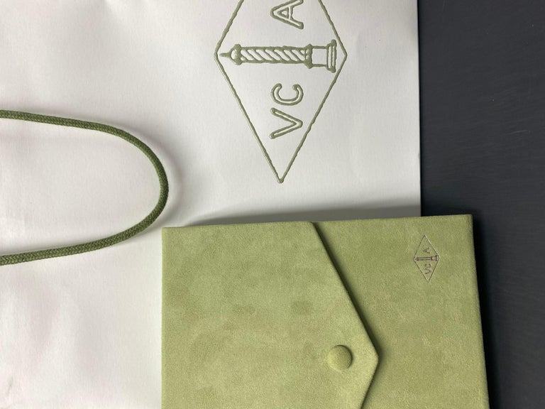 Van Cleef & Arpels Vintage Alhambra Necklace 20 Turquoise Motifs For Sale 2